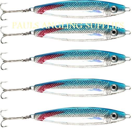 Stinger Bass Bait : 5 stinger bass lures green or blue 60g sea fishing ~ Vivirlamusica.com Haus und Dekorationen