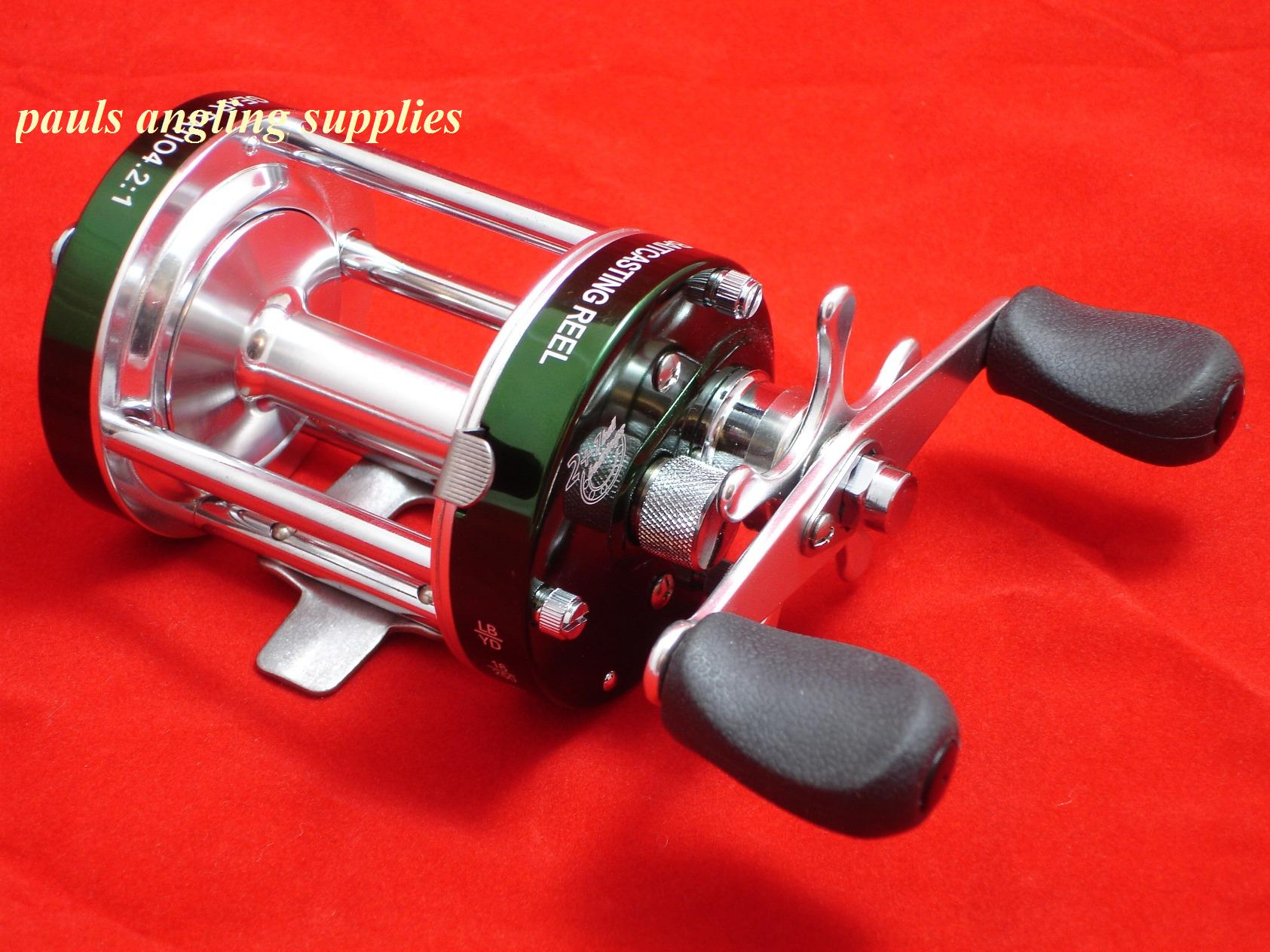Left hand fladen sea fishing multiplier reel fishing reels for Left handed fishing reels