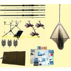 Complete Mega Carp Fishing Kit All The Tackle