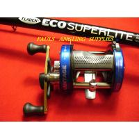11ft Beach Pier Rod and Multiplier Reel
