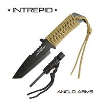 'Intrepid' - Fixed Blade Knife with Firestarter + Whistle