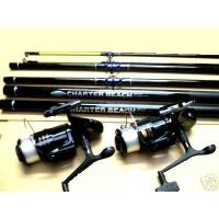 2 X 14FT FLADEN RODS / REELS
