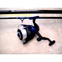 14 ft Charter Sea fishing Rod + Beach Reel + Line