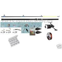 140 Piece Beach Fishing Kit