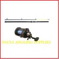 12ft Beach Rod with Multiplier Reel and Line
