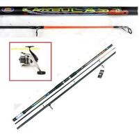 Carbocast 14ft Beachcaster Beach Sea Fishing Rod & Reel