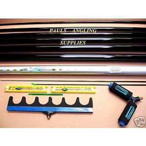 8m Pole Kit with Roller Roost and Rigs
