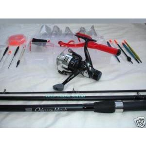 Shakespeare coarse fishing tackle set kit rod and reel for Fishing tackle kits
