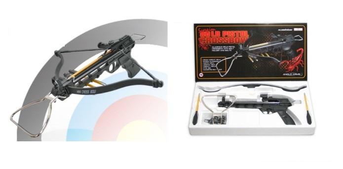 80lb Aluminium 'SCORPION' Anglo Arms Crossbow