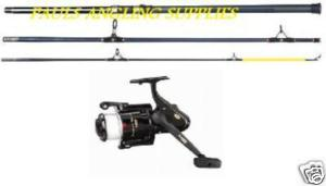 1 X 14ft Fishing Rod and Reel Fladen