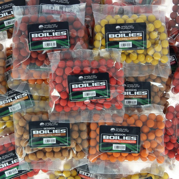10 Packs of Assorted Flavour Boilies for Carp Fishing