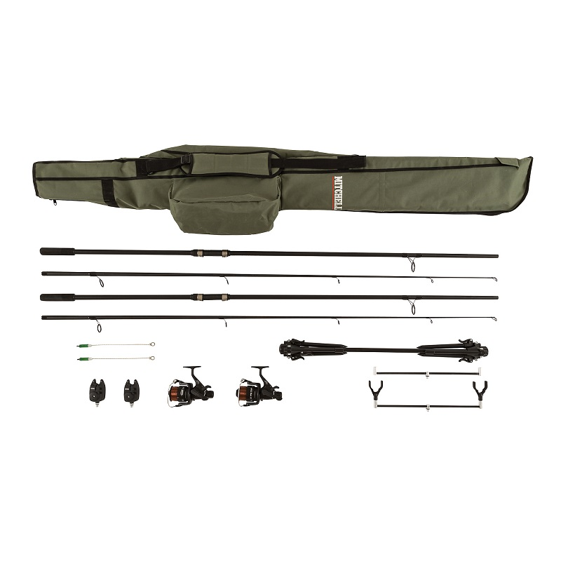 Mitchell GT Pro Carp Combo Complete Set Up