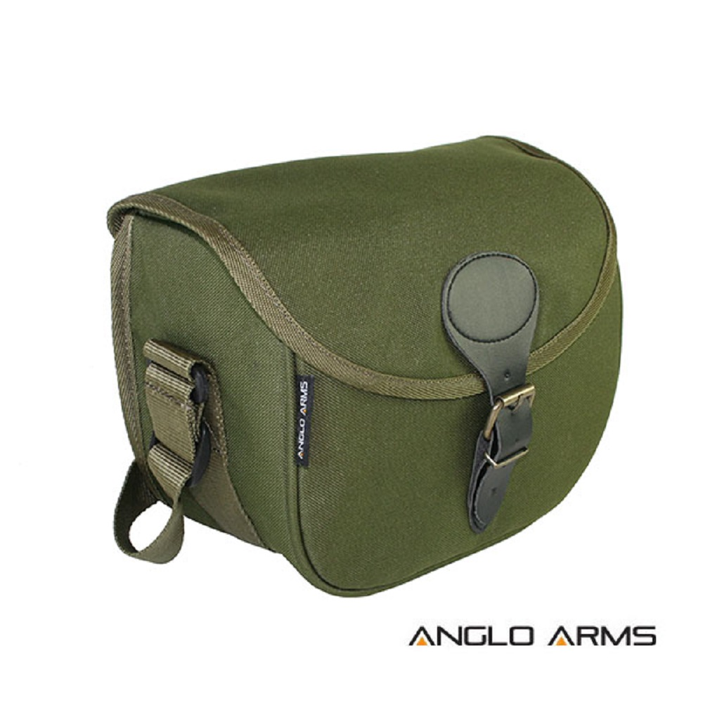 Anglo Arms Green Gun Shooting Cartridge Bag Shotgun Cartridge