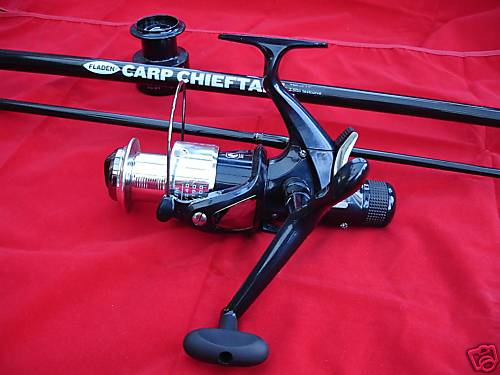 Fladen Carp Fishing Rod and Freespool Carp Reel