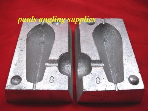 3-4-5-6 oz WEIGHT MOULDS