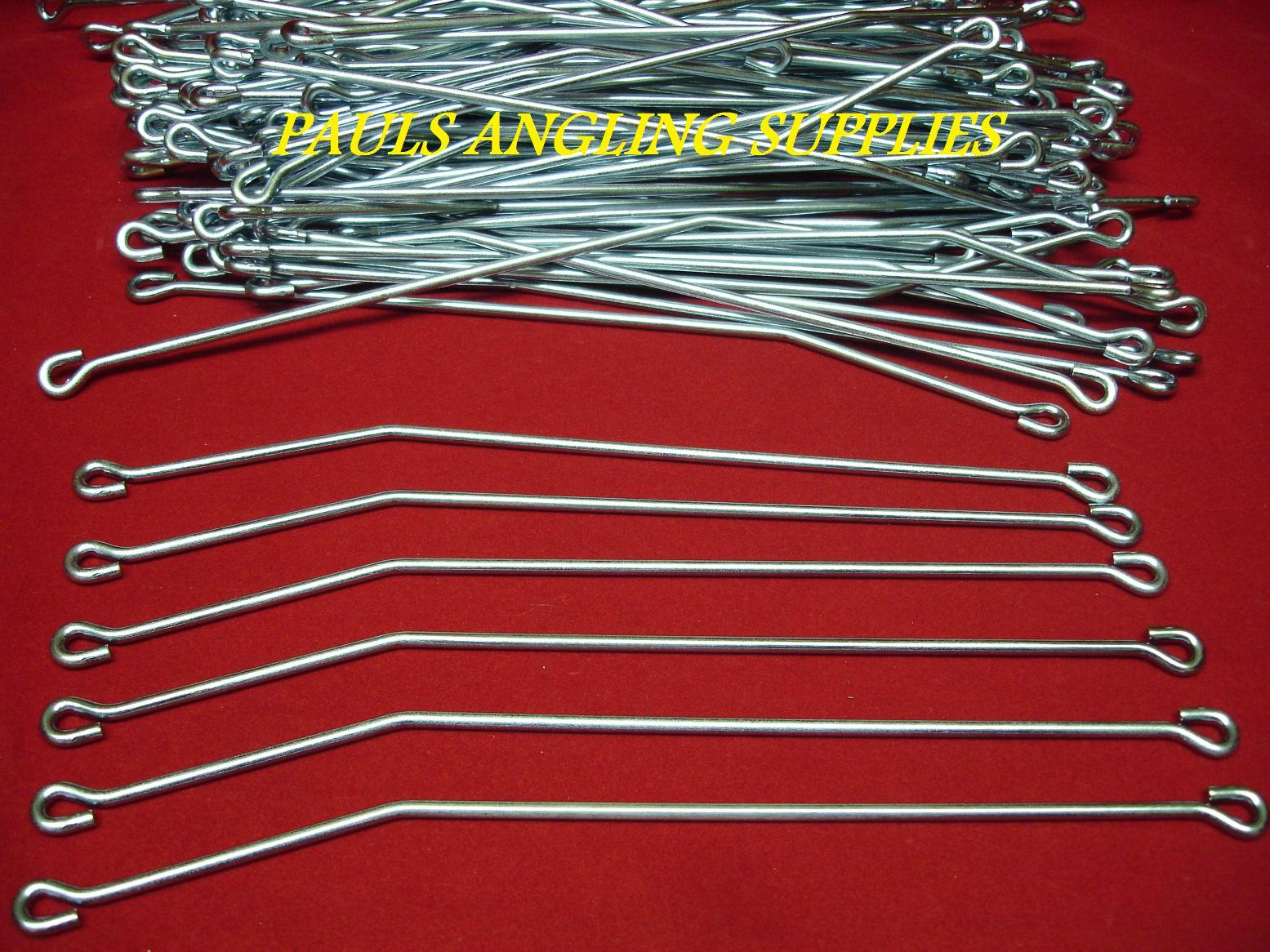 50  Lead Weight Mould Norwegian Pirk Wires Connectors