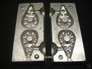 2 IN 1 Grip River Lead Weight Mould ASL Size 1