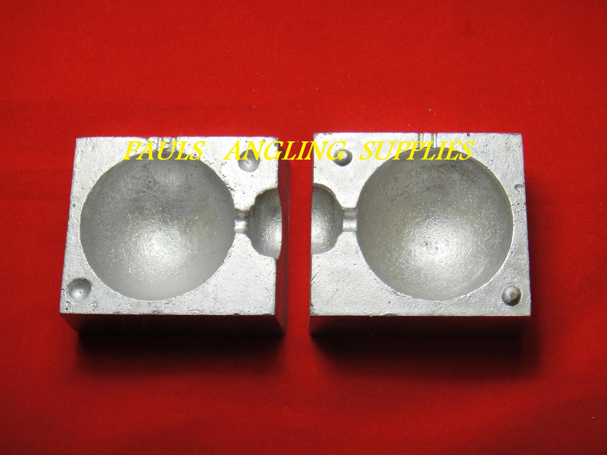 Ball Boat Lead Weight Mould ASL
