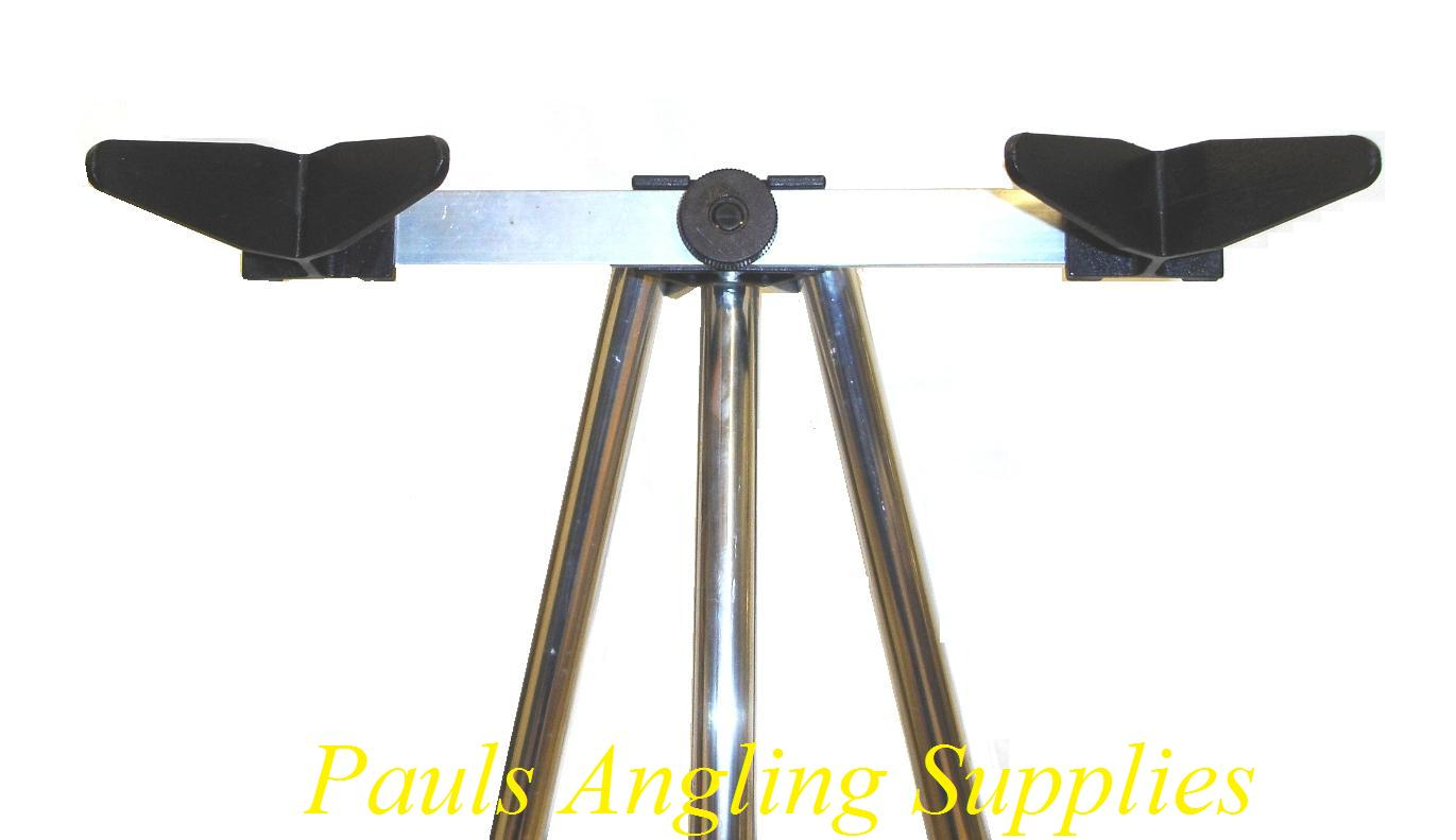 Sea Fishing Parker 4 ft Alloy Twin Head Tripod Rest