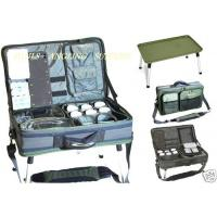 Carp Fishing Bivvy Tackle Table - Bag and Accessories