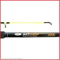 2 x NGT Surfmaster Beach Beachcaster Surf fishing Rods 12ft 2 pc