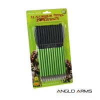 "Bolts - Pack Of 12 x 6.5"" Aluminium Zombie Green"