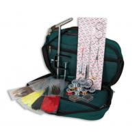 Lineaeffe Fly Fishing Tying Kit in Case Inc Feathers Floss Tinse