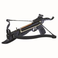 80lb Aluminium 'CYCLONE' Anglo Arms Self Cocking Crossbow (Black