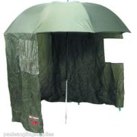 "45 "" Nylon Tilting Fishing Umbrella with Windows"