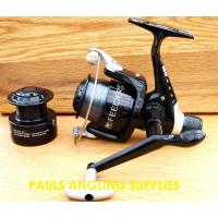 Lineaeffe Feeder Fishing Reel 040 With Line & Spare Spool