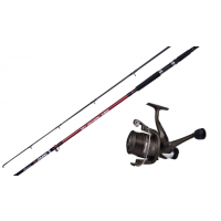 Shakespeare Omni 10 ft Rod & Reel Combo Pier Rock Mackerel Sea F
