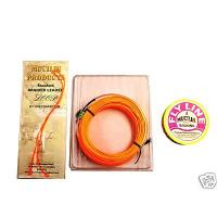 Mucilin Fly Fishing Line + Backing + Leader Loops WF7F
