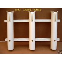 Large Triple Boat Fishing Rod Holder Holds 3 Rods