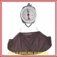 Large Face Dial Fishing Scales + Weighing Sling