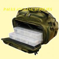 ASL Tackle Bag Fishing Carp Carryall + Internal Boxes