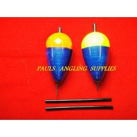 2 x ASL Pike Fishing Floats Slider Bungs