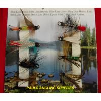 8 Assorted Fishing Nymphs fly / Flies Double Hook
