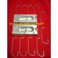 ASL Fishing Lead Weight Mould Big Jig + Hooks 10 oz