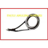 Single Leg Black Lined Rod Rings