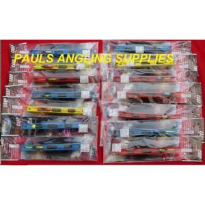 14 Assorted Carp Pole Fishing Rigs Hook Sizes 12- 22