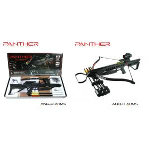 175lb Anglo Arms Black 'PANTHER' Crossbow Kit with Accessories