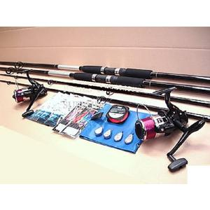Sea fishing beachcaster kit 2 rods 2 reels and tackle