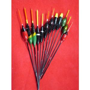 12 Assorted Pole Fishing Floats Carbon Stem FLA12