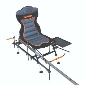 "Fishing Chair MIDDY MX-100 Pole Feeder Recliner Chair ""FULL PACK"