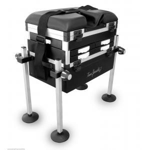 MAX 5 Drawer Fishing Seat Box Seatbox with Strap