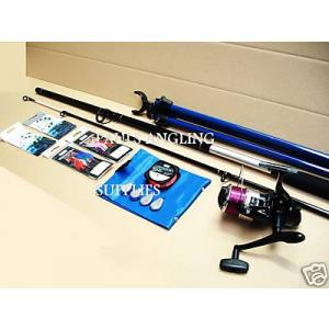 Beach Fishing Kit Rod Reel Tripod All the Tackle
