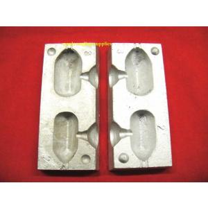 Square Carp Fishing Lead Weight Mould