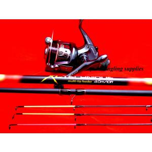 Shakespeare Fishing Reel & XL Multi Tip Feeder Rod