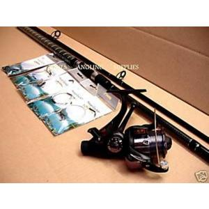 Pike Fishing Kit and Freespool Reel