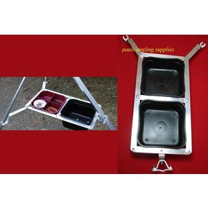 Sea Fishing Parker Tripod Work Station Bait Tray